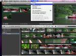 Abb. 1 fertigen Film aus iMovie an iDVD bereitstellen