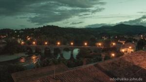 Roquebrun, Abendstimmung